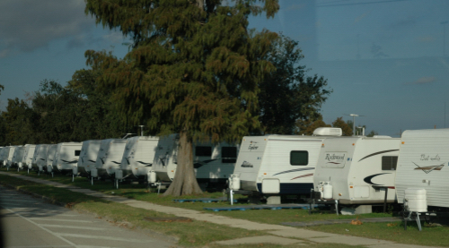FEMA trailers in New Orleans